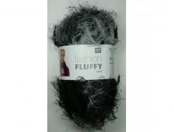 Laine fashion Fluffy Print 100 gr RICO 66% Acrylique - 34% Polyamide