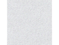 Toile à broder - Aïda fine -  Zweigart - Blanc pailleté