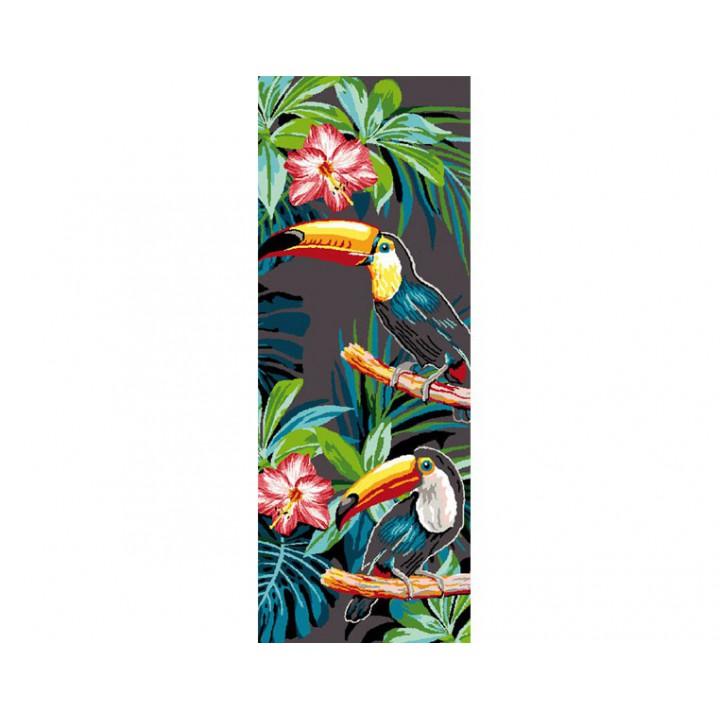 Canevas - Les toucans