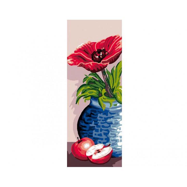 Canevas - Vase bleu