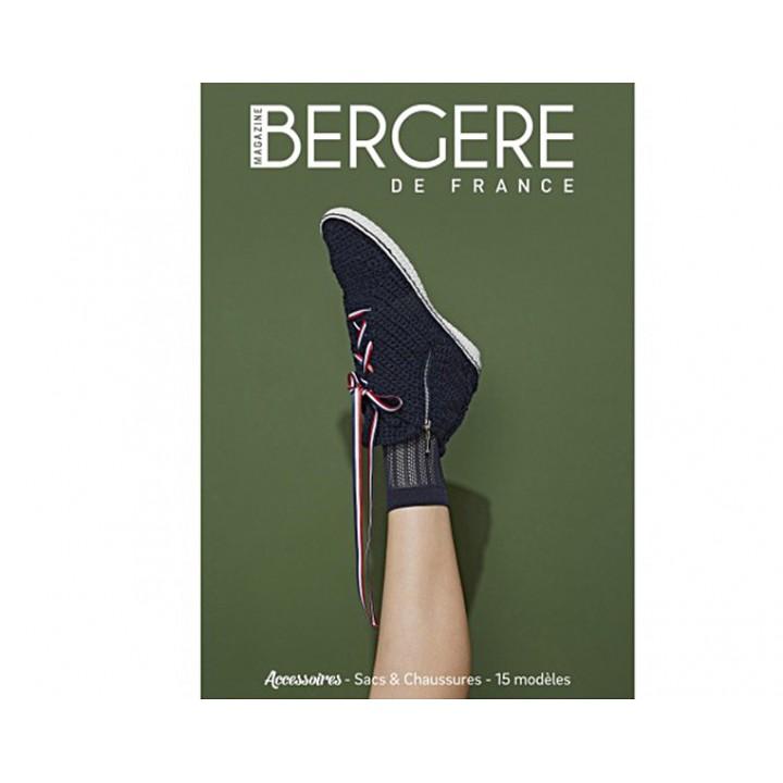 Magazine tricot N°07, Sacs & Chaussures, Bergère de France