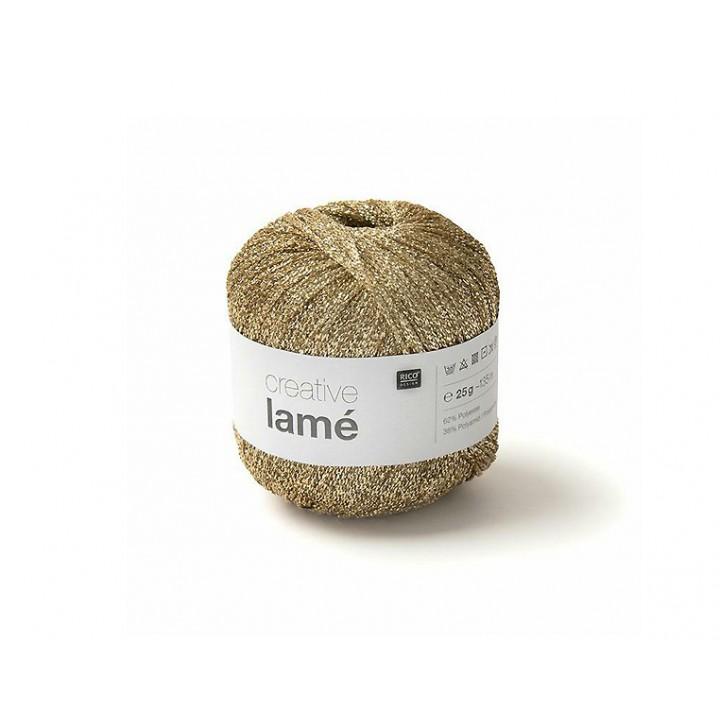 Fil Creative Lamé - 62% polyester, 38% polyamide  - Rico