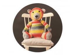 Kit crochet ours en peluche - Emil