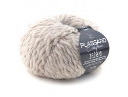 Fil Trésor (50 gr) de Plassard 74% alpaga, 7% acrylique, 8% polyamide