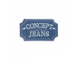 Écusson thermocollant - Concept Jeans