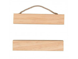 Suspension en bois pour broderie - Rico Design