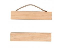 Suspension en bois pour broderie