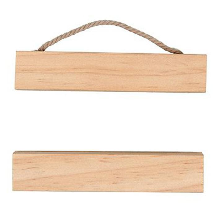 Suspension en bois pour broderie - Rico Design