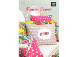 138 - Livre point de croix Flower Power - Rico Design