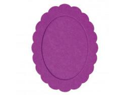 Cadre en feutre violet RICO