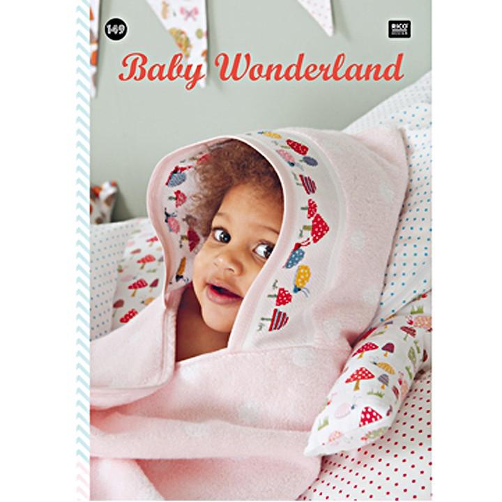 149 - Livre point de croix Baby Wonderland, RICO