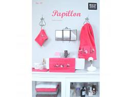 137 - Papillon serviette éponge - Rico Design