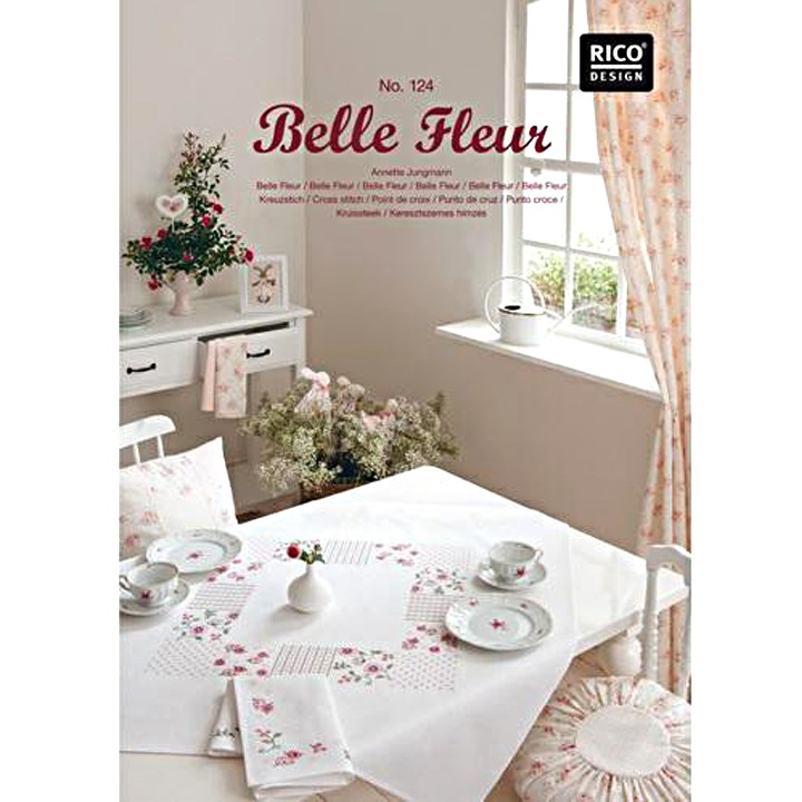 124 - Belle Fleur - Rico Design