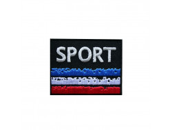 Écusson thermocollant Sport, France
