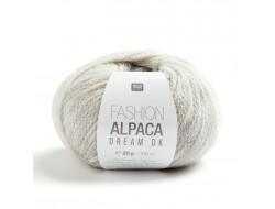 Fil Fashion Alpaca Dream DK - aig n°4 -  63% laine vierge, 27% alpaga, 10% polyamide - Rico