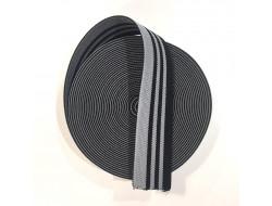 Bande élastique rayée - 45 mm