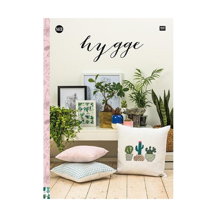 162 - Livre point de croix Hygge, RICO Design