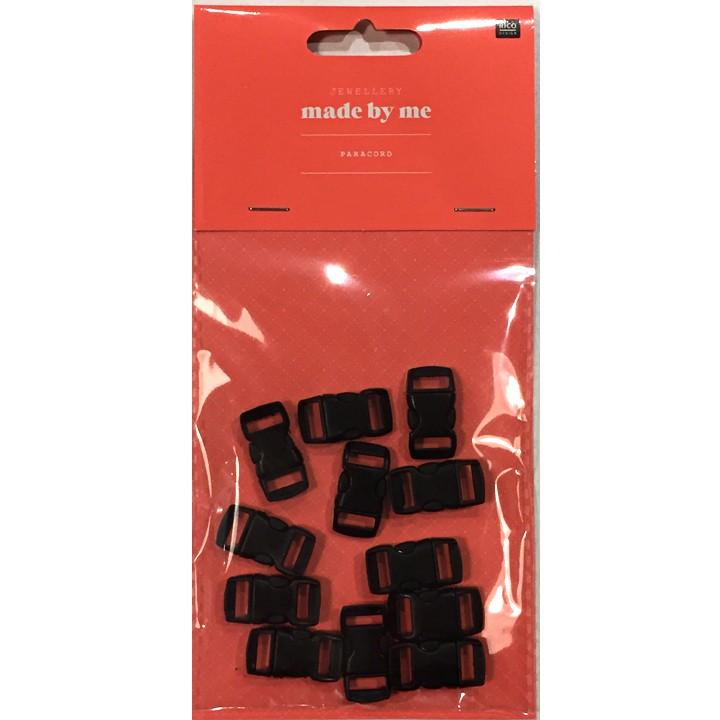 Fermetures 6 mm - Noires
