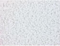 Perles de rocaille 2 mm - Blanche