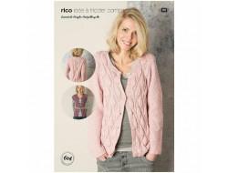 Idée à tricoter N°604 - Essentials Acrylic Antipilling dk