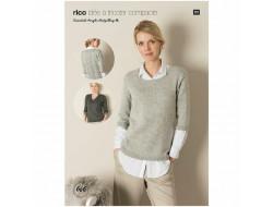 Idée à tricoter N°606 - Essentials Acrylic Antipilling dk