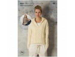 Idée à tricoter N°605 - Essentials Acrylic Antipilling dk
