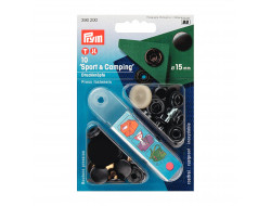 Boutons pressions + outil Prym - Sport & Camping