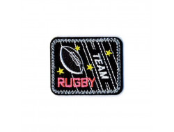 Écusson thermocollant - Rugby fluo