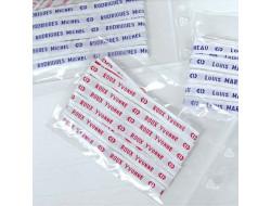 Noms tissés à THERMOCOLLER 10 mm - Rouge ou bleu