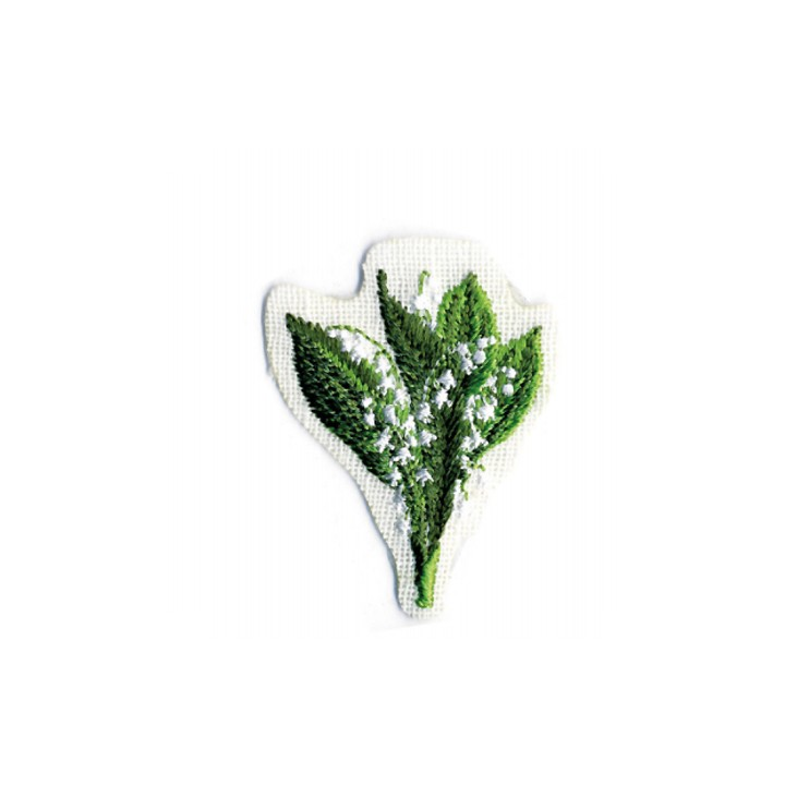 Écusson thermocollant - Muguet