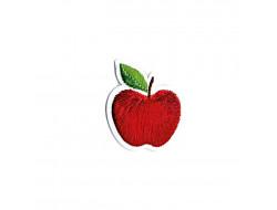 Écusson thermocollant - Pomme rouge