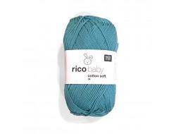 Fil à tricoter Rico Baby Coton Soft dk Uni  50% Coton - 50% Acrylique