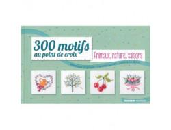 300 motifs au point de croix Animaux, nature, saisons
