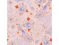 Tissu popeline - Oriental Japanese