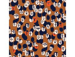Tissu popeline - Arty Ethnic - Katia