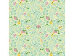 Tissu popeline - Camp Flowers