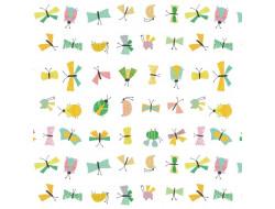Tissu popeline - Camp Butterflies
