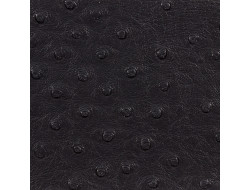 Tissu simili cuir autruche - noir