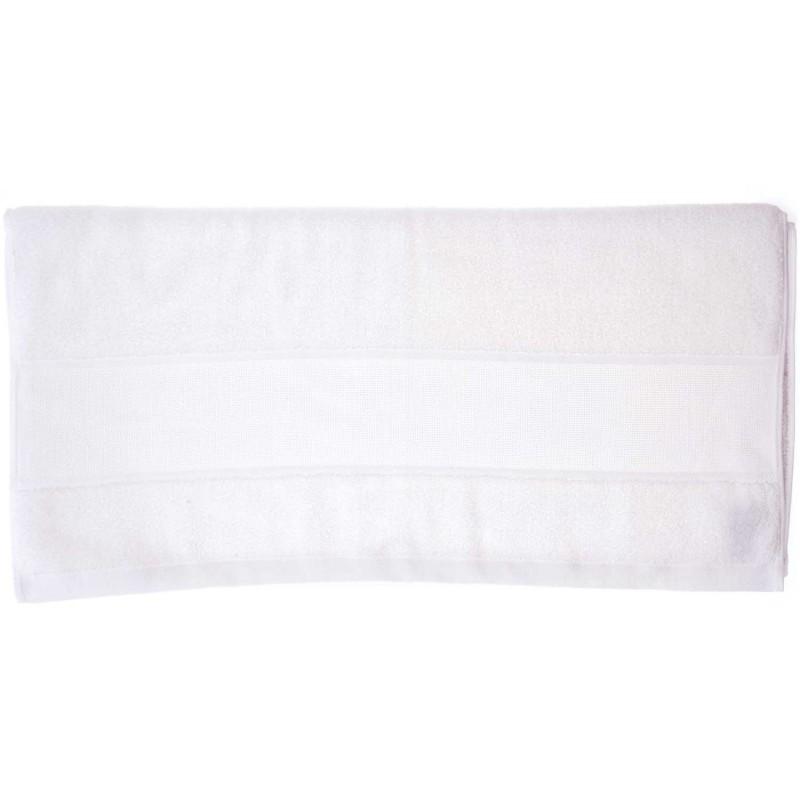 drap de douche broder blanc 70x140 rico mercerie floriane. Black Bedroom Furniture Sets. Home Design Ideas