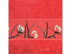 Drap de douche - Corail