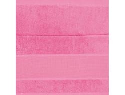Serviette de toilette rose vif RICO