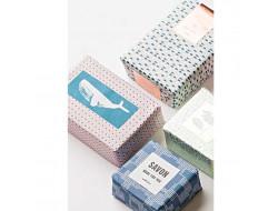 Papiers cadeaux pour savon, Hygge  - 20 pièces