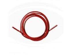 Lacet coton ciré - Rouge
