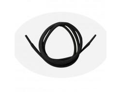 Lacet cordelet rond 75 cm - Noir
