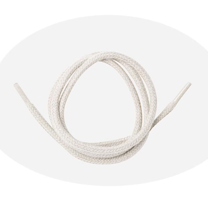 Lacet cordelet rond 75 cm - Blanc