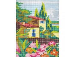 Kit canevas - Maison de provence