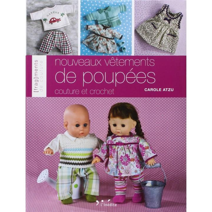 Nouveaux vêtements de poupées - couture et crochet