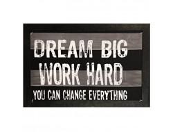 Écusson à coudre XXL - Dream big