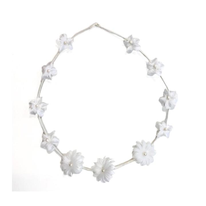Couronne de fleur - Blanc