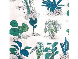 Tissu imprimé - Plantes